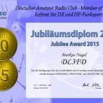 Jubiläumsdiplom